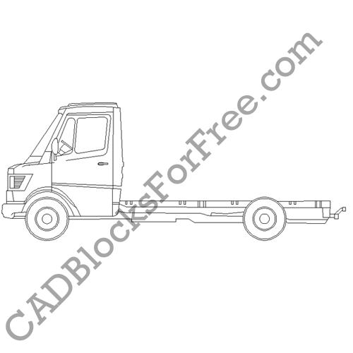 Mercedes Rigid Truck