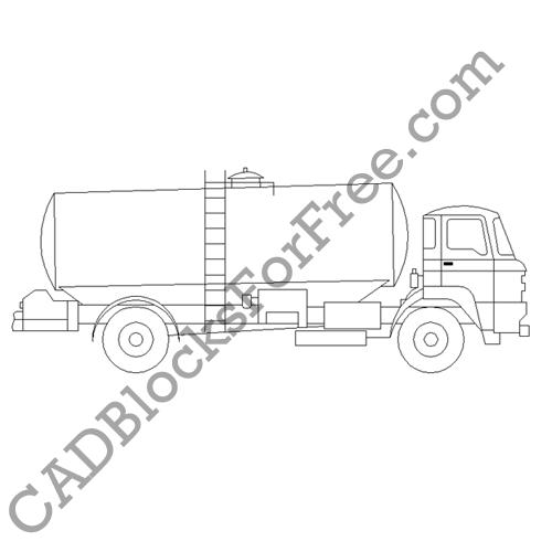 Tanker Truck Rigid
