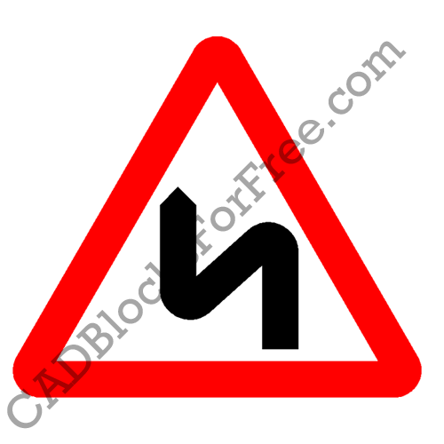 Double Bend – First to Left