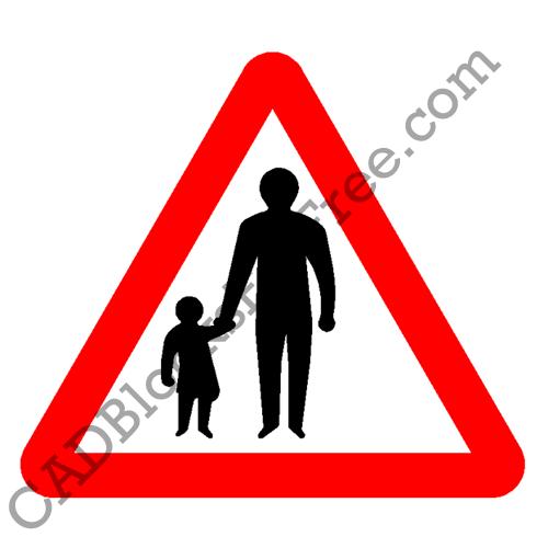 Pedestrians in Road Ahead