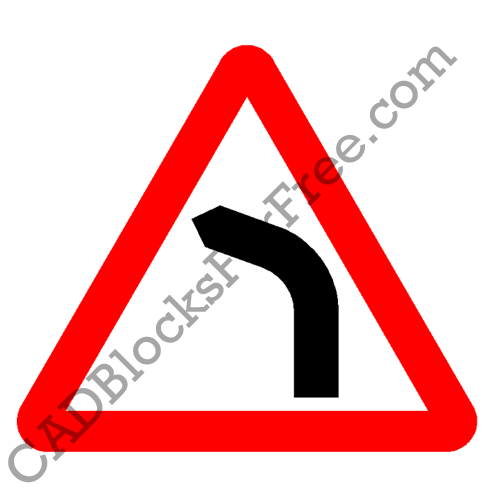 Road Bends to Left
