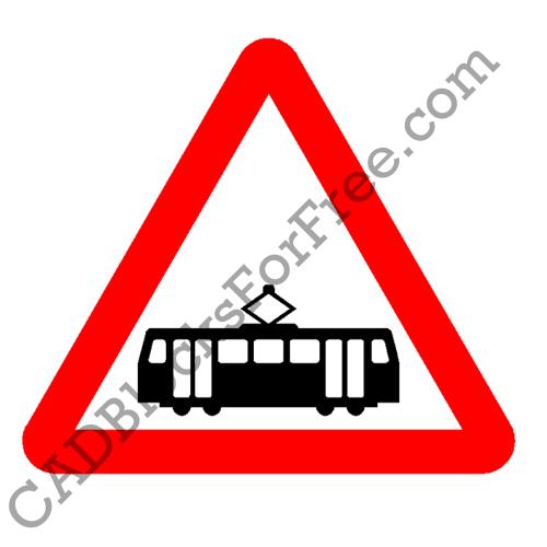 Trams Crossing Ahead