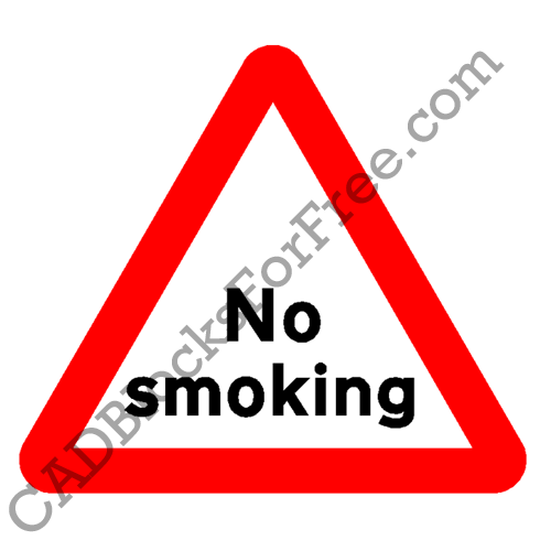 No Smoking Warning Sign