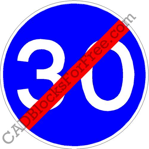 End of Minimum Speed
