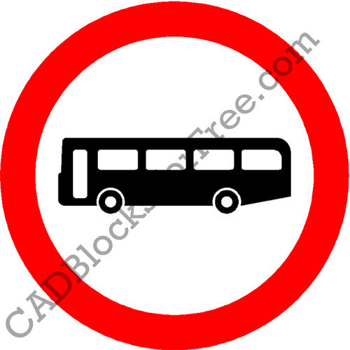 No Buses (Over 8 Passenger Seats)