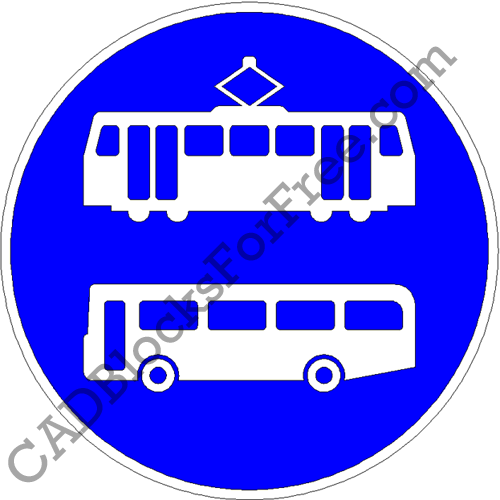 Trams and Buses Only