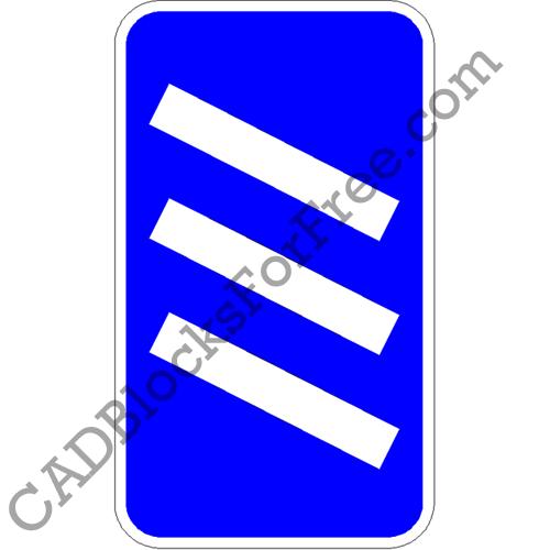 Motorway Exit 'Countdown' Marker