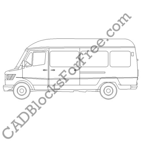 Mercedes Light Van
