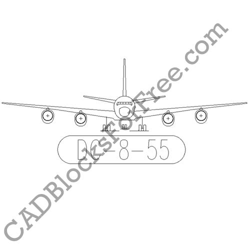 Douglas DC 8 55