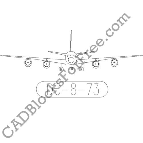 Douglas DC 8 73