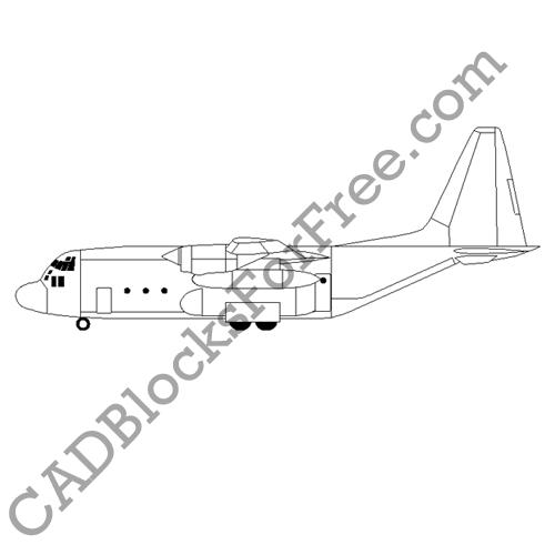 Heavy Lift Plane