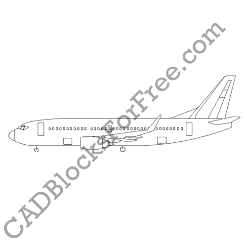 Boeing 737 300w