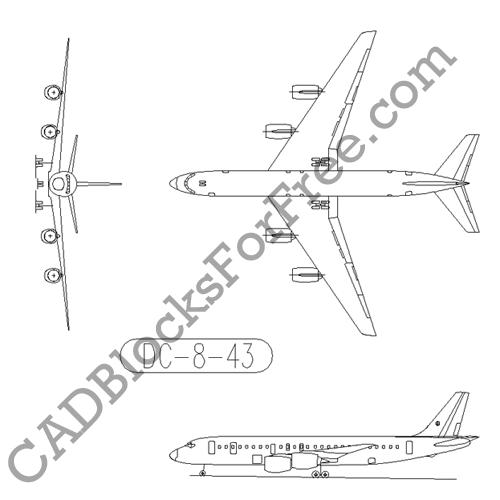 Douglas DC 8 43