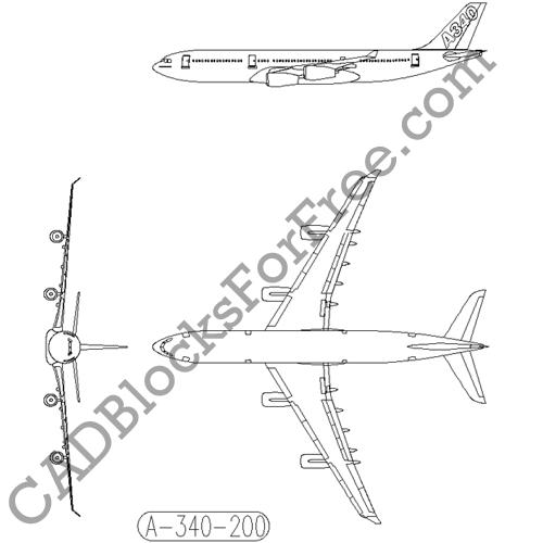 Airbus A340 200