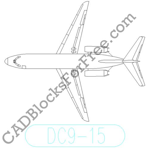 Douglas DC 9 15