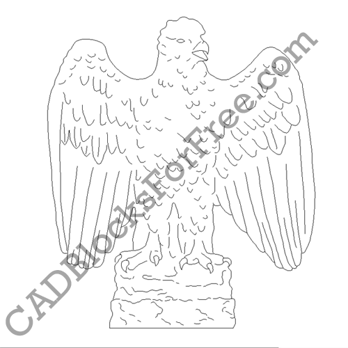 Bald Eagle – Left Hand