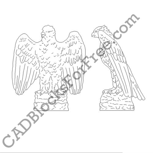 Bald Eagle – Right Hand