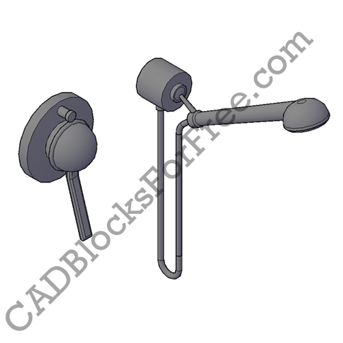 Shower Faucet with Mixer