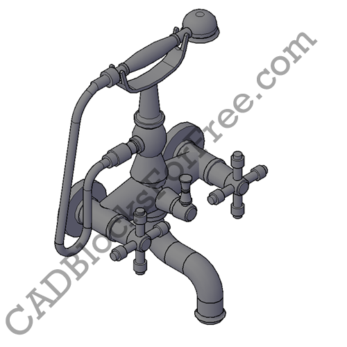 Bath Taps with Shower Faucet