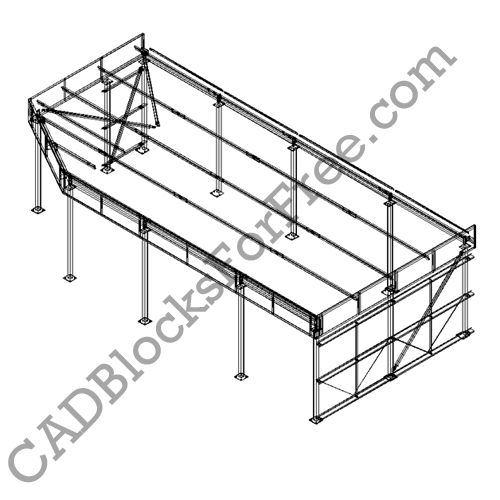 Steelwork Arrangement