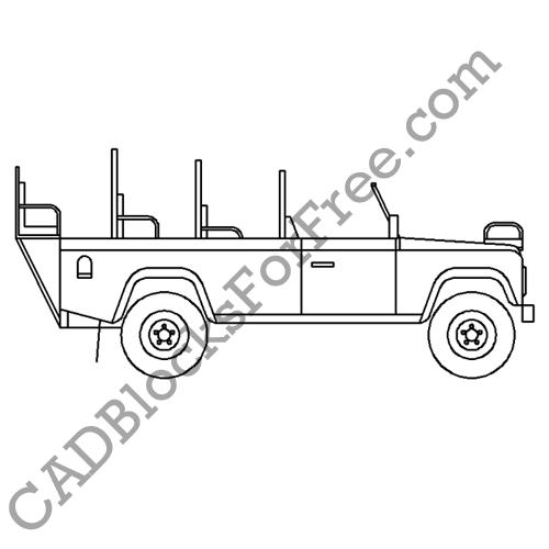 Safari Land Rover