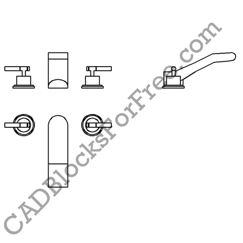 Taps / Faucets | CAD Blocks For Free