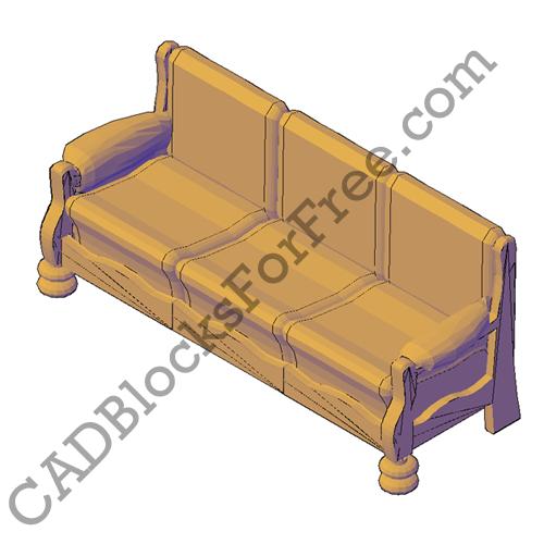 Sofa 3-Seater