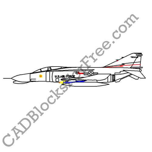 Aircraft | CAD Blocks For Free