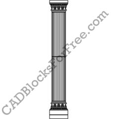 Arches, Pillars & Columns | Free AutoCAD blocks in DWG
