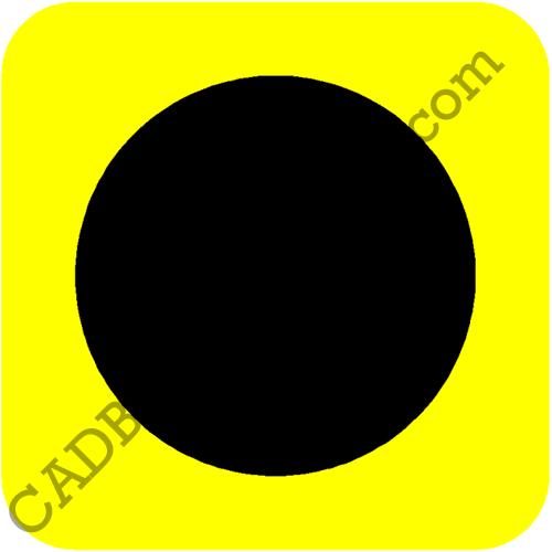Traffic Route Diversion Symbol