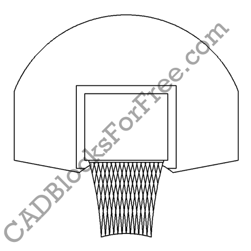 Hoop and Backboard