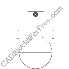 Basketball | Free AutoCAD blocks in DWG
