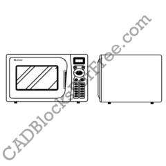 Kitchen Appliances Free Autocad Blocks In Dwg