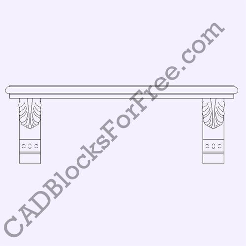 Stone Bench Seat